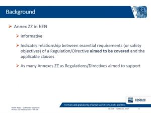 整合規格Annex ZA/ZZが目指すこと